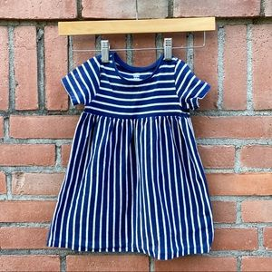 OLD NAVY striped baby doll dress